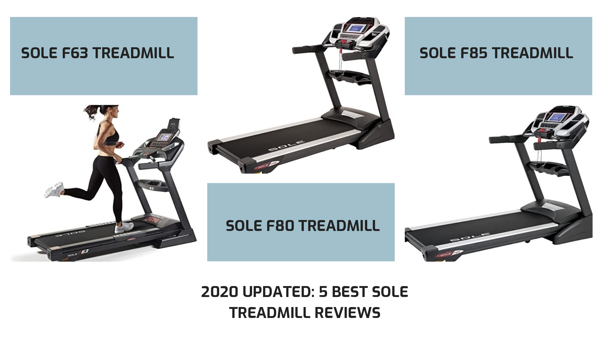 2020 Updated: 5 Best Sole Treadmill Reviews