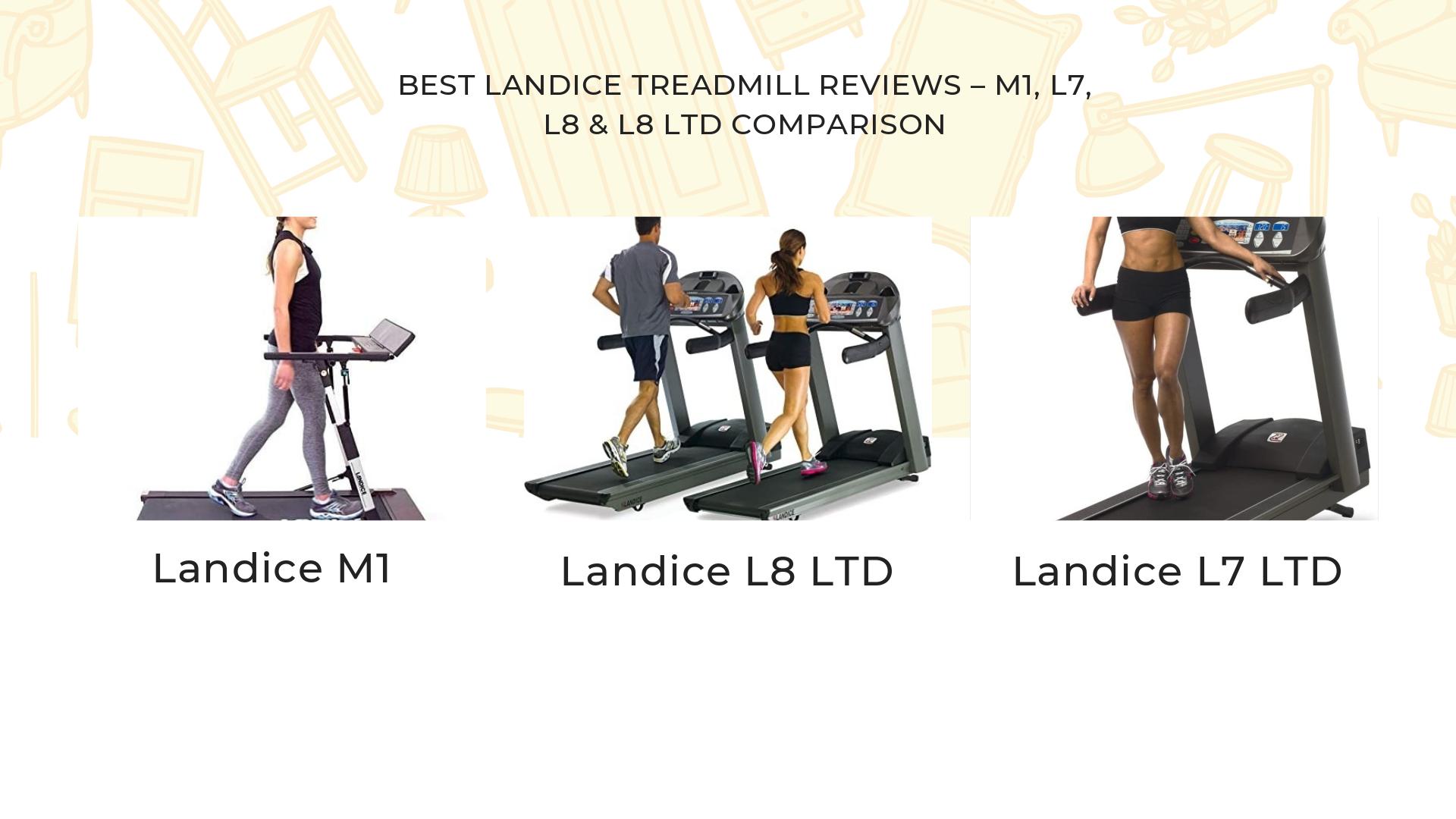 Best Landice Treadmill Reviews – M1, L7, L8 & L8 LTD Comparison