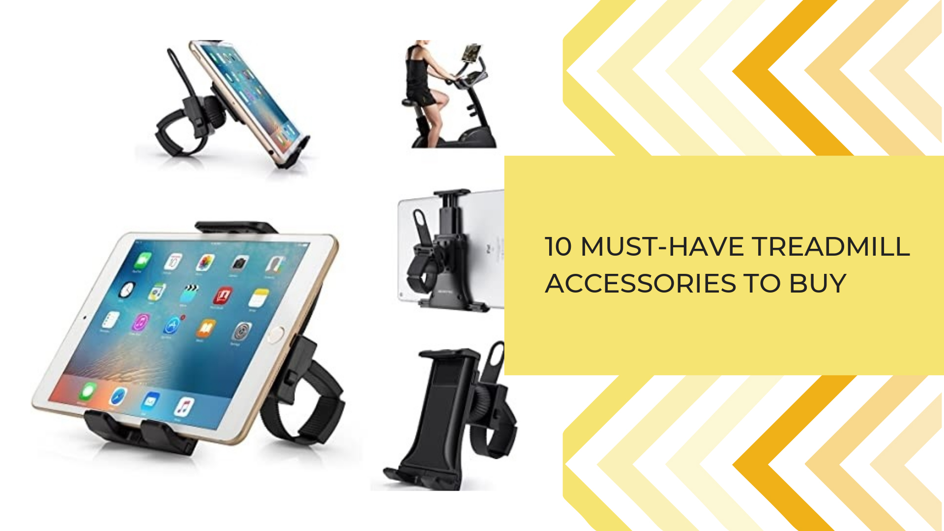 10 Must-Have Treadmill Accessories To Buy