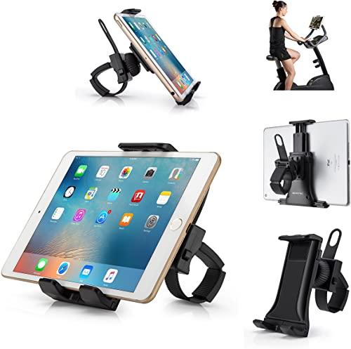 Treadmill tablet holder