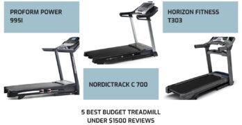 5 Best budget treadmill under $1500 reviews